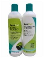 DevaCurl No Poo Decadence Cleanser & One Conditioner Decadence Set 12 OZ Each - 1