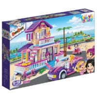 BanBao Interlocking Blocks Trendy Beach House 6122 (565 Pcs) - 1