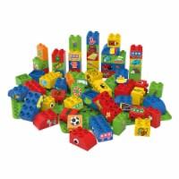 BiOBUDDi Educational Blocks w/ 2 Baseplates - Boys