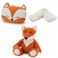 Warmies Fox French Lavender Scented Handwarmer with Neck Wrap