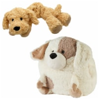 Warmies Puppy French Lavender Scented Handwarmer with Neck Wrap Set