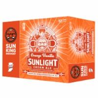 Sun King Brewery Orange Vanilla Sunlight Cream Ale - 12 cans / 12 fl oz