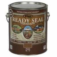 Ready Seal  Goof Proof  Semi-Transparent  Pecan  Oil-Based  Wood Stain and Sealer  1 gal. - - Case of: 4
