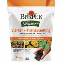 Burpee 4 Lb. 3-6-4 Organic Starter & Transplanting Dry Plant Food BP4ST