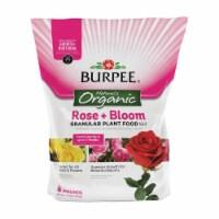 Burpee 7504038 4 lbs Organic Rose & Bloom Plant Food