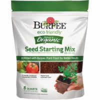 Burpee 8 Qt. 6 Lb. All Purpose Container Organic Seed Starting Mix BP8SS