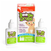 Boogie Drops Saline Nose Drops 2 Count