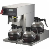 Coffee Pro 3-burner Commercial Brewer Coffee - Stainless Steel - 1
