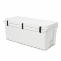 Engel High Performance 108-Qt Durable Rotomolded Airtight Hard Ice Cooler, White - 1 Unit