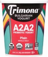 Trimona Organic Plain Bulgarian Yogurt - 32 oz