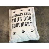 Cozy Home CotDogBed-36x27x6 Always Kiss Your Dog Bed, Medium