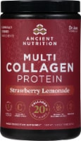 Ancient Nutrition Strawberry Lemonade Multi Collagen Protein Powder