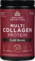 Ancient Nutrition Cold Brew Collagen Multi Collagen Protein Powder