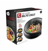 Chefman 3-in-1 Electric Grill Pot & Skillet - 10 in