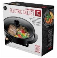 Chefman Round Electric Skillet - Black - 12 in