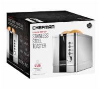Chefman Stainless Steel 2-Slice Pop-Up Toaster - 1 ct