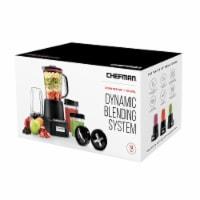 ChefmanCountertop + Travel Dynamic Blending System - Black