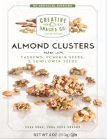 Creative Snacks Co.Almond Clusters with Cashews Pumpkin Seeds & Sunflower Seeds