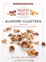 Creative Snacks Co. Almond Clusters with Cranberries & Cashews