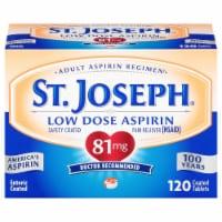 St Joseph 81mg Enteric Coated Aspirin