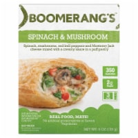 Boomerang's Spinach & Mushroom Pot Pie Frozen Meal