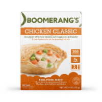 Boomerang's Chicken Classic Pot Pie Frozen Meal