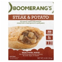 Boomerang's Steak & Potato Pot Pie Frozen Meal