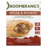 Boomerang's Steak & Potato Pot Pie Frozen Meal - 6 oz