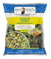 Josie's Organics Lemon Herb Premium Salad Kit - 9.8 oz