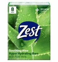 Zest Fresh Aloe Refreshing Bars - 8 ct / 4 oz