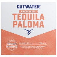 Cutwater Spirits Grapefruit Tequila Paloma Cocktail