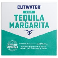 Cutwater Spirits Lime Tequila Margarita Cocktail
