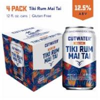 Cutwater Spirits® Bali Hai® Tropical Tiki Rum Mai Tai Cocktails 4 Cans