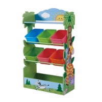 Fantasy Fields Children Sunny Safari Wooden Toy Storage Tidy Organiser TD-12799A - 1