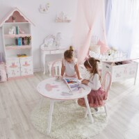 Fantasy Fields Childrens Swan Lake Kids Wooden 2 Chair Set (no table) TD-12718A2 - 1