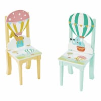 Kids Set of Chairs Childrens Furniture Hot Air Balloon Fantasy Fields TD-13122A2 - 1