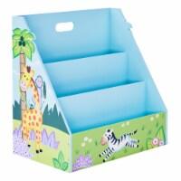 Kids Bookcase Childrens Magazine Rack Tidy Sunny Safari Fantasy Fields TD-13141A