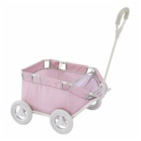 Olivia's Little World Baby Doll Pull Along Wagon Trolley Toy Cart OL-00007