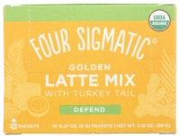 Four Sigmatic Organic Mushroom Golden Latte Mix Packets
