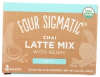 Four Sigmatic's Mushroom Chai Latte with Turkey Tail & Reishi Packets