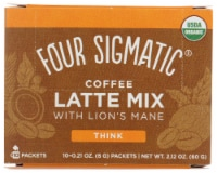 Four Sigmatic Think Coffee Latte Mix with Lions Mane