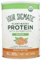 Four Sigmatic Repair Peanut Butter Plant-Based Protein with Superfoods - 21.16 oz