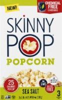 SkinnyPop Sea Salt Popcorn 3 Count