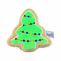 Midlee Christmas Sugar Cookie Plush Dog Toy (Christmas Tree, Small) - 1