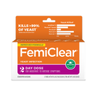 FemiClear Organic 2-Day Dose Homeopathic Vaginal Yeast Infection Treatment