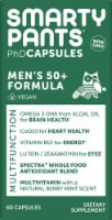 SmartyPants PhD Men's 50+ Formula Multifunction Vegan Capsules