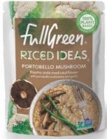 Full Green Riced Ideas Portobello Mushroom Risotto-Style Riced Cauliflower