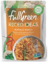 Full Green Riced Ideas Buffalo Ranch Risotto-Style Riced Cauliflower