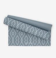 Oak and Reed Non-Slip  Yoga Mat, Blue Diamond Geo - 68 in x 24 in x 4 mm