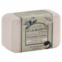 A La Maison Coconut Creme Soap